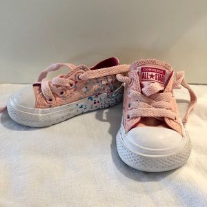 Infant Converse All Star Low Tops